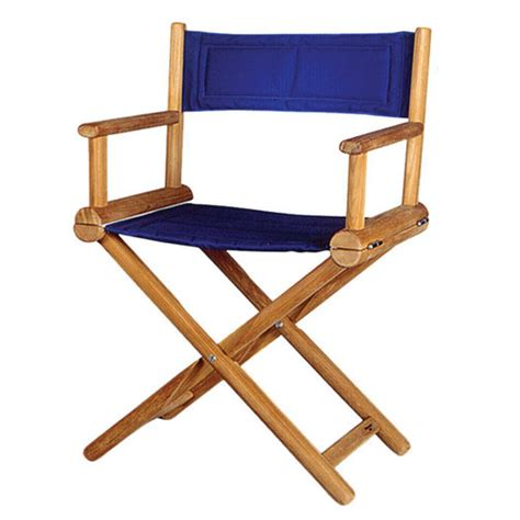 Teak Folding Chairs by Teak Folding Directors Chairs Marine