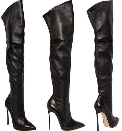 casadei boots cara delevingne in barbara bui dress and casadei thigh