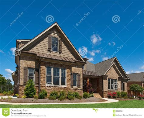 luxury house exterior in 334 model luxury home exterior angle view sidewalk stock image