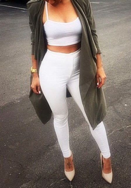 Sv7 Highwaist 4381 white high waisted them plays and