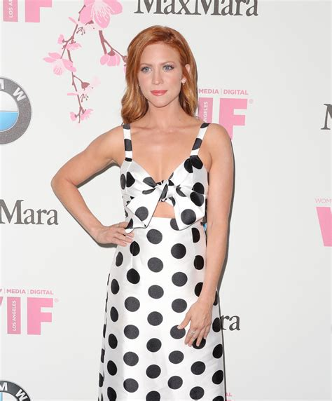 film lucy ba more pics of brittany snow long wavy cut 1 of 6