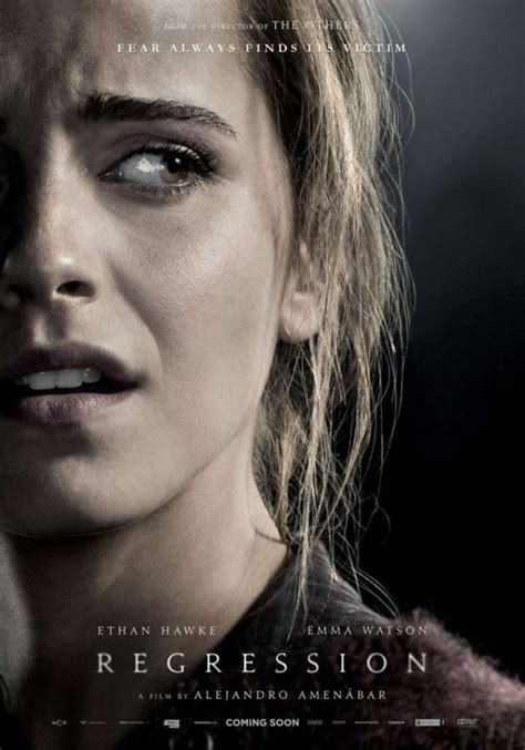 film romantici emma watson emma watson regression movie poster 2015