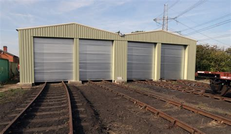 Railway Shed by Continued Developments At Swithland Great Central