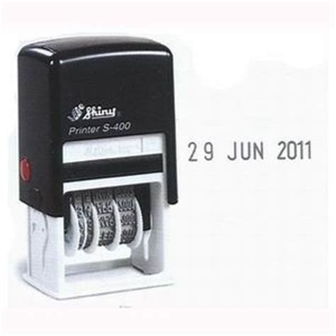 s date self inking date sts