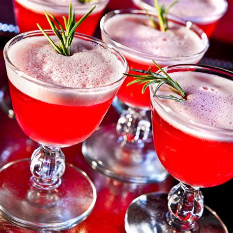 christmas liquor winter sour cocktail recipe
