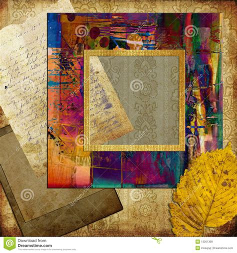 frame patterned wallpaper art frame on pattern wallpaper royalty free stock photos
