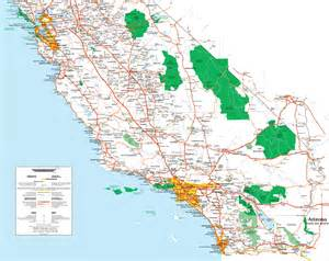 southern california map map of southern ca pictures to pin on pinsdaddy