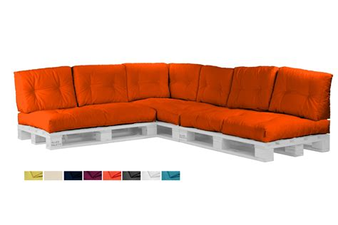 sofa farben palettenkissen set palettenpolster sofa kissen
