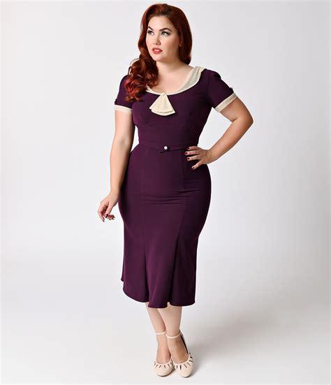 plus size plus size 1930s style dresses