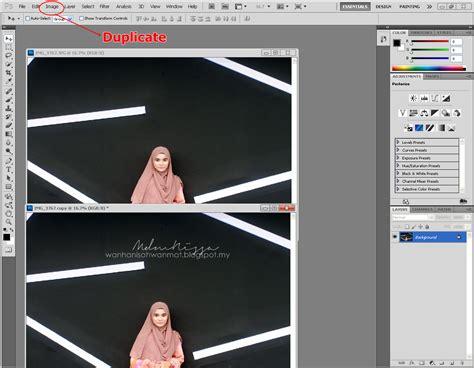 tutorial edit gambar guna adobe photoshop mdmnissa tutorial membuat gambar passport