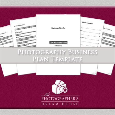 photography business plan template free photography business plan template