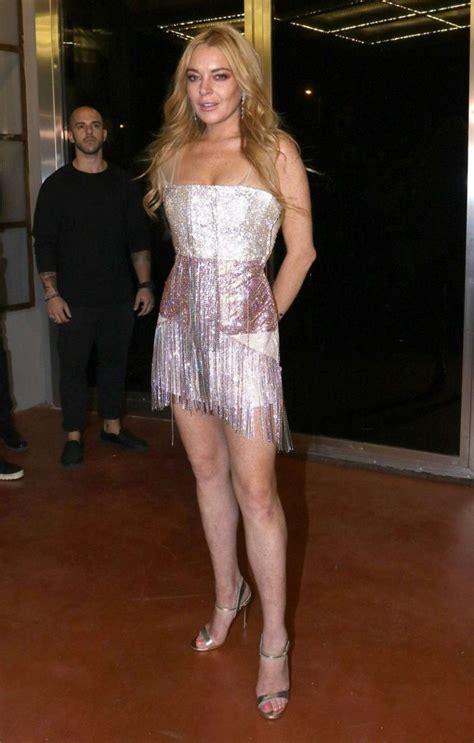 Random Lindsay Lohan Club Pictures by Lindsay Lohan Opening Of New Nightclub Called Lohan