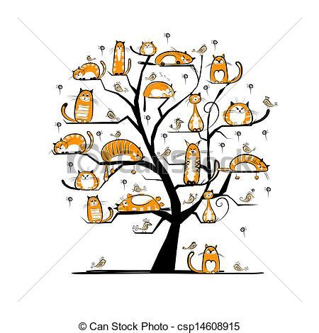 At Family Tree For Your Design Vector Clip Art Search Illustration Drawings And Eps Family Tree Stock Vectors Vector Clip