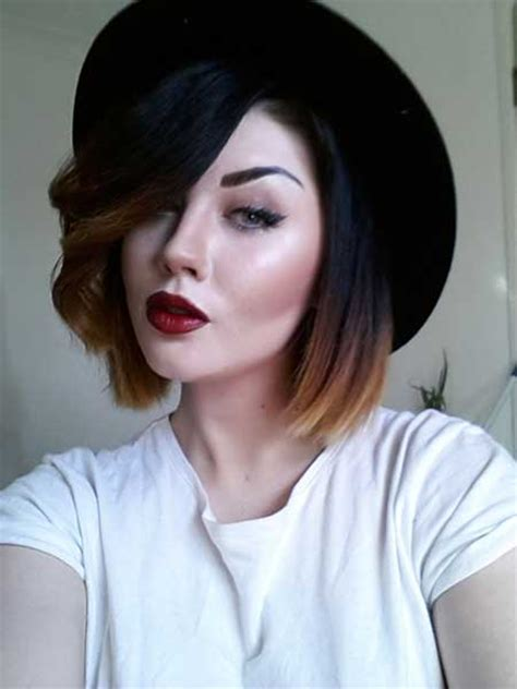 Short Hair Cut And Ash Color Streaks Look Grey | 35 short hair color trends 2013 2014 short hairstyles