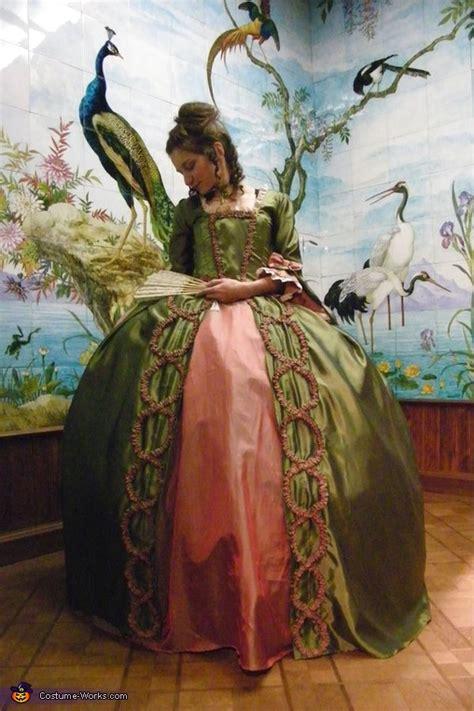 marie antoinette handmade costume