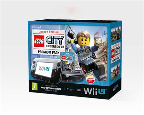 Promo Switch Lego City Undercover lego city undercover wii u bundle heading to europe nintendotoday