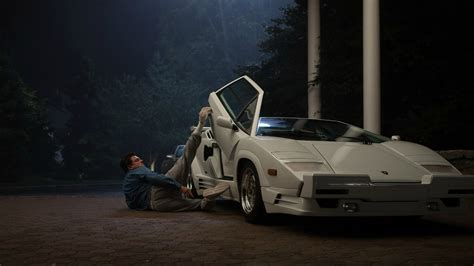 crashed lamborghini countach wolf of wall street directors wrecked a real lamborghini