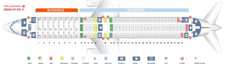 Seat Map Boeing Air Canada by Seat Map Boeing 767 300 Air Canada Best Seats In Plane