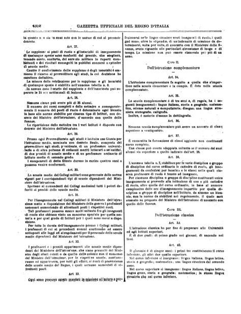 gazzetta ufficiale concorsi d italia gazzetta ufficiale regno d italia n 129 02 06 1923