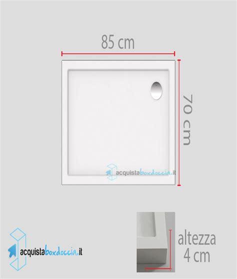 piatto doccia 65x85 vendita piatto doccia 70x85 cm altezza 4 cm
