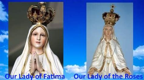 these last days ministries our lady of the roses mary our lady of fatima is our lady of the roses mary help of