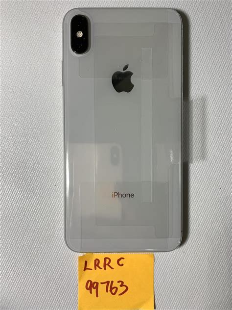apple iphone xs max  mobile  silver  gb