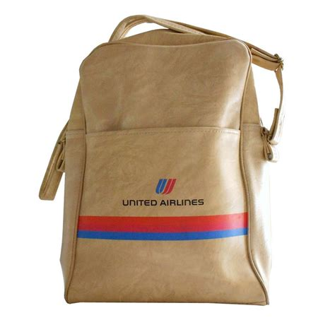 united airlines bag gate 72 vintage united airlines travel bag circa 1980 s