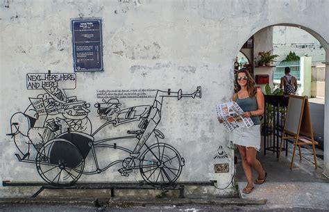 design art penang the georgetown street art scene penang malaysia