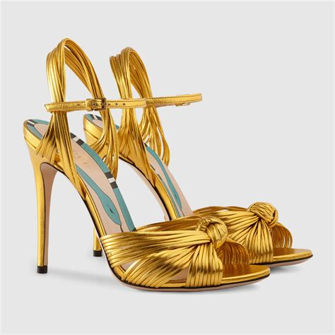 metallic gold sandals metallic gold sandal gucci s sandals 431943b8b008016
