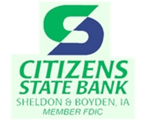 Citizens Bank Mba Loan by Citizens State Bank Sheldon Ia 817