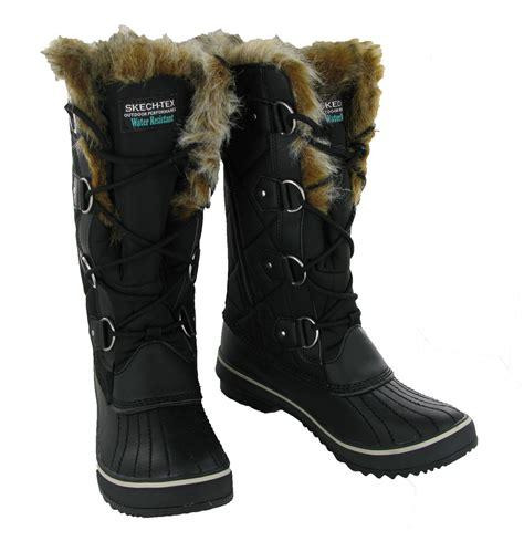 warmest boots skechers highlanders matterhorn fur lined winter warm