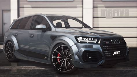 Audi Sq 7 by Audi Sq7 2016 Add On Abt Tuning Gta5 Mods