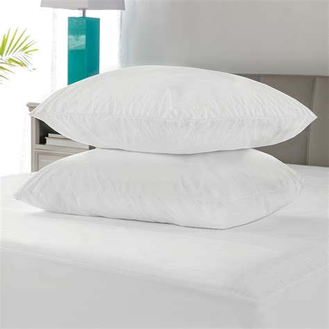 bed pillow protectors biopedic microshield king size pillow protector 2 pack 71162 the home depot