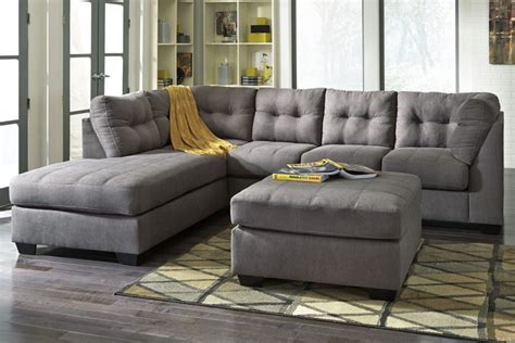 orion fabric chaise sectional with ottoman orion sectional sofa home the honoroak