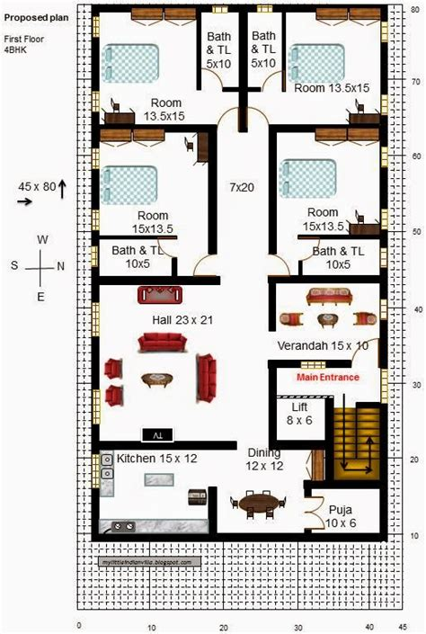 home design 30 x 45 30 x 45 house plans east facing