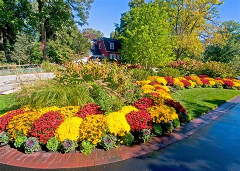 Fall Flower Garden Ideas Terrific Fall Decorating Ideas Outdoor Decorating Ideas Images In Landscape Traditional Design