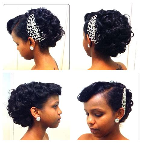 Wedding Hairstyles Afro American by 9