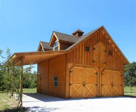 Outdoor Kitchen Island Plans barn style garages amp shops