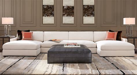 abbyson living claridge fabric sectional rooms to go leather sectionals abbyson living claridge