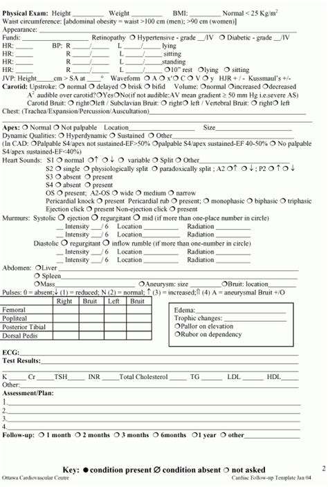 templates for exam website physical exam template site top template