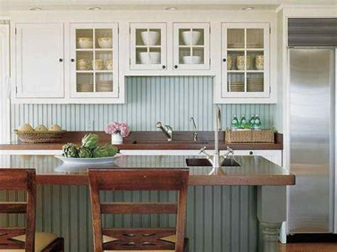 Cottage Style Kitchen Cabinets by 15 Beadboard Backsplash Ideas For The Kitchen Bathroom