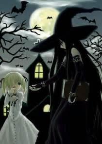 Halloween Costumes Girls Vampire Anime Halloween Witch Anime Wallpaper