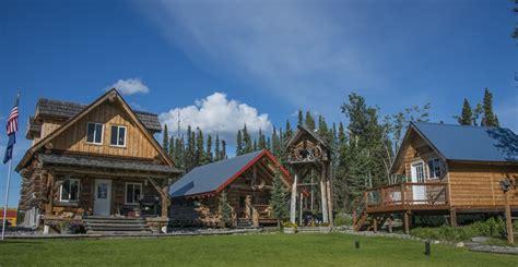 alaska cabin alaskan wooden cabins custom fishing packages