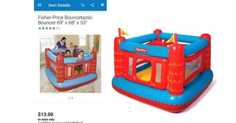 fisher price bounce house woah fisher price bounce house only 13 at walmart