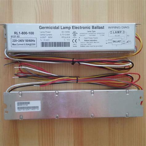 electronic ballast for uv l 230v 95w germicidal l electronic ballasts uv ballast