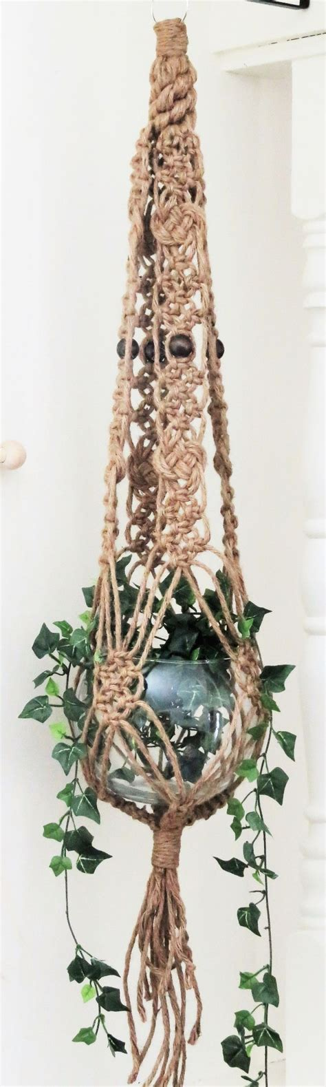 Macrame Pot Holder Pattern - 25 best ideas about macrame plant hangers on