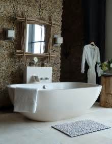 Creative natural style bathroom decorating ideas