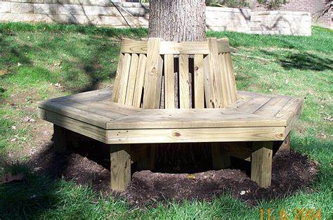 bench tree group diy plans wrap around tree bench plans free