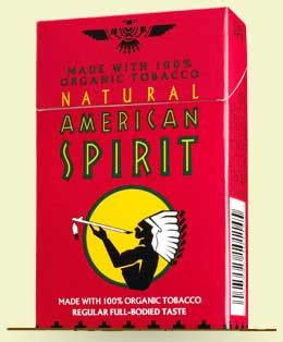 Light Blue American Spirits by American Spirit Organic