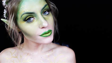 tutorial makeup natural pixy halloween makeup tutorial woodland fairy youtube